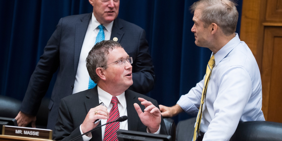 Who is Thomas Massie and why does Trump want him thrown out of GOP?