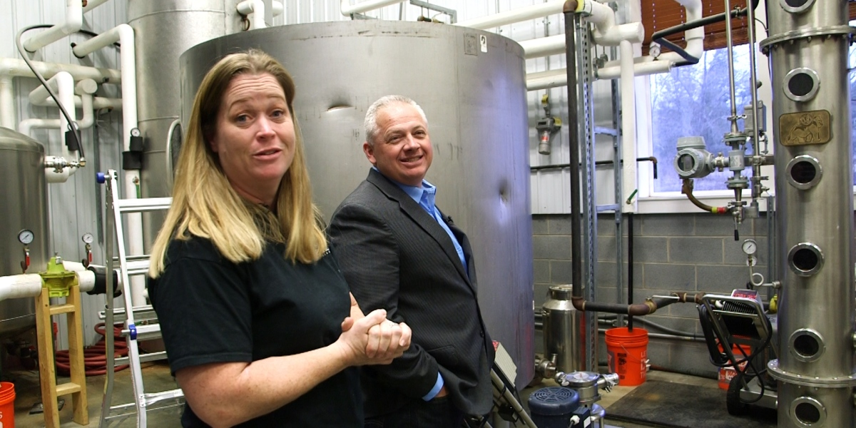 This congressman's family's distillery is shifting to hand sanitizer