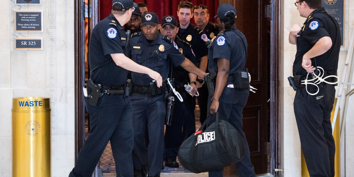 Campus Notebook: Nine Capitol Police officers have tested positive for coronavirus - Roll Call