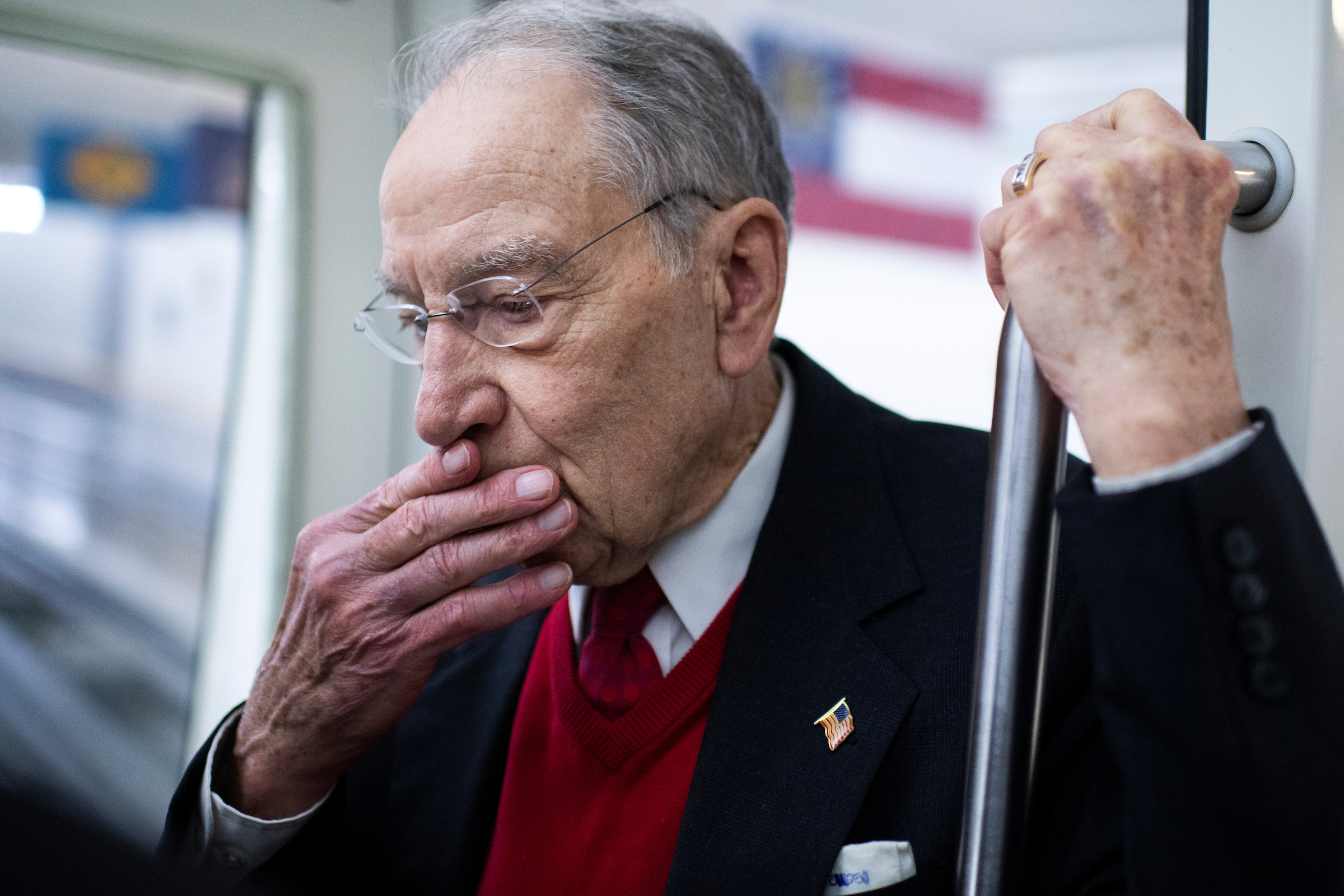 Sen. Chuck Grassley, R-Iowa, wants the USDA to use the Commodity Credit Corporation to aid the ethanol industry. (Photo By Tom Williams/CQ Roll Call)