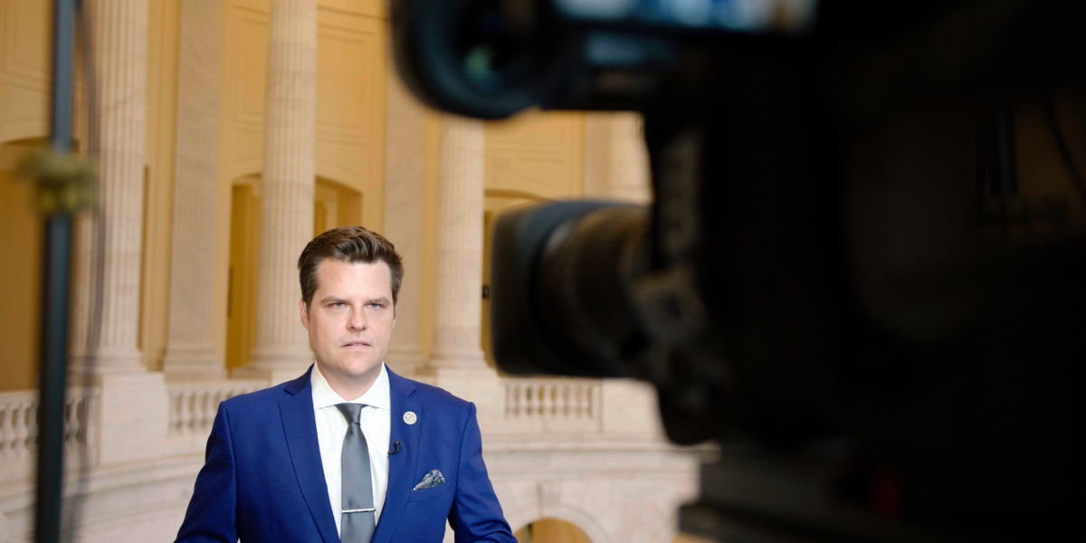 Matt Gaetz Puts On His Own Makeup And Other Lessons From