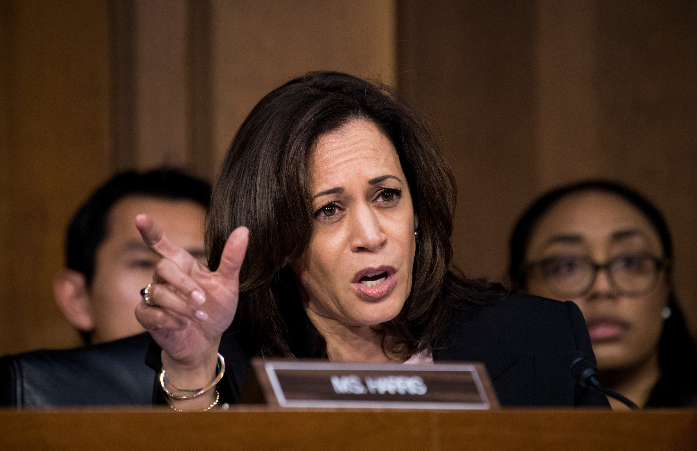 Harris Laid Groundwork For Vp Nod With Tough Committee Questions