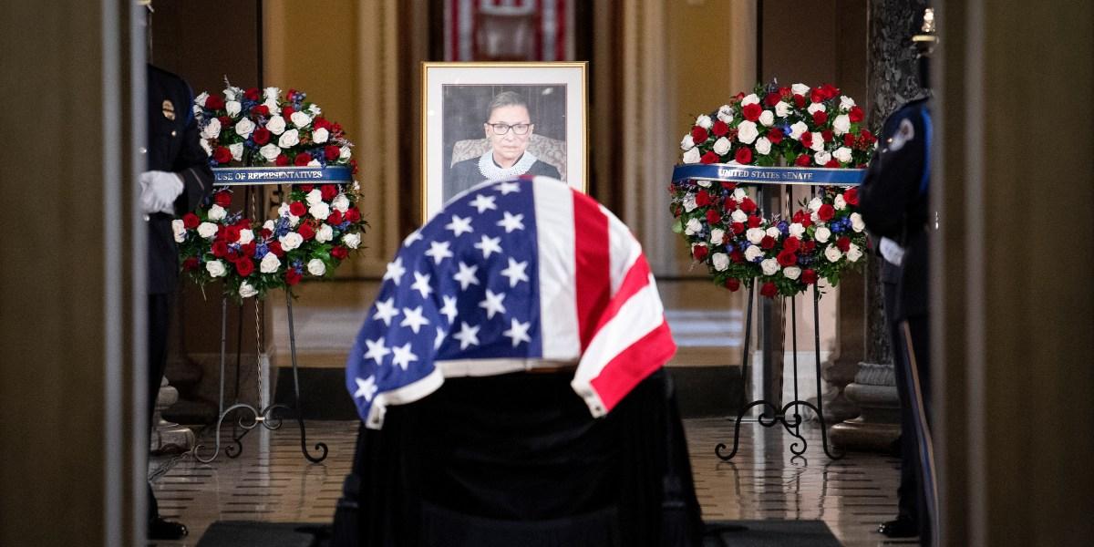 Capitol bids goodbye to Ruth Bader Ginsburg - Roll Call