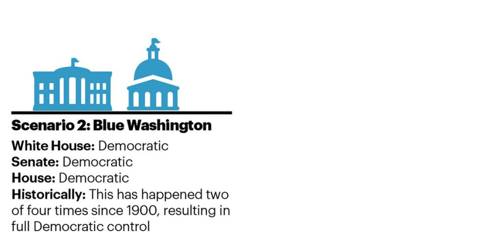 Blue Washington scenario