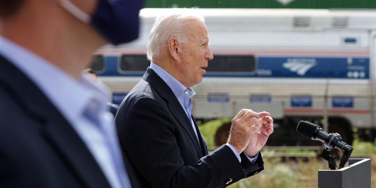 biden amtrak - Joe Biden the railroad President