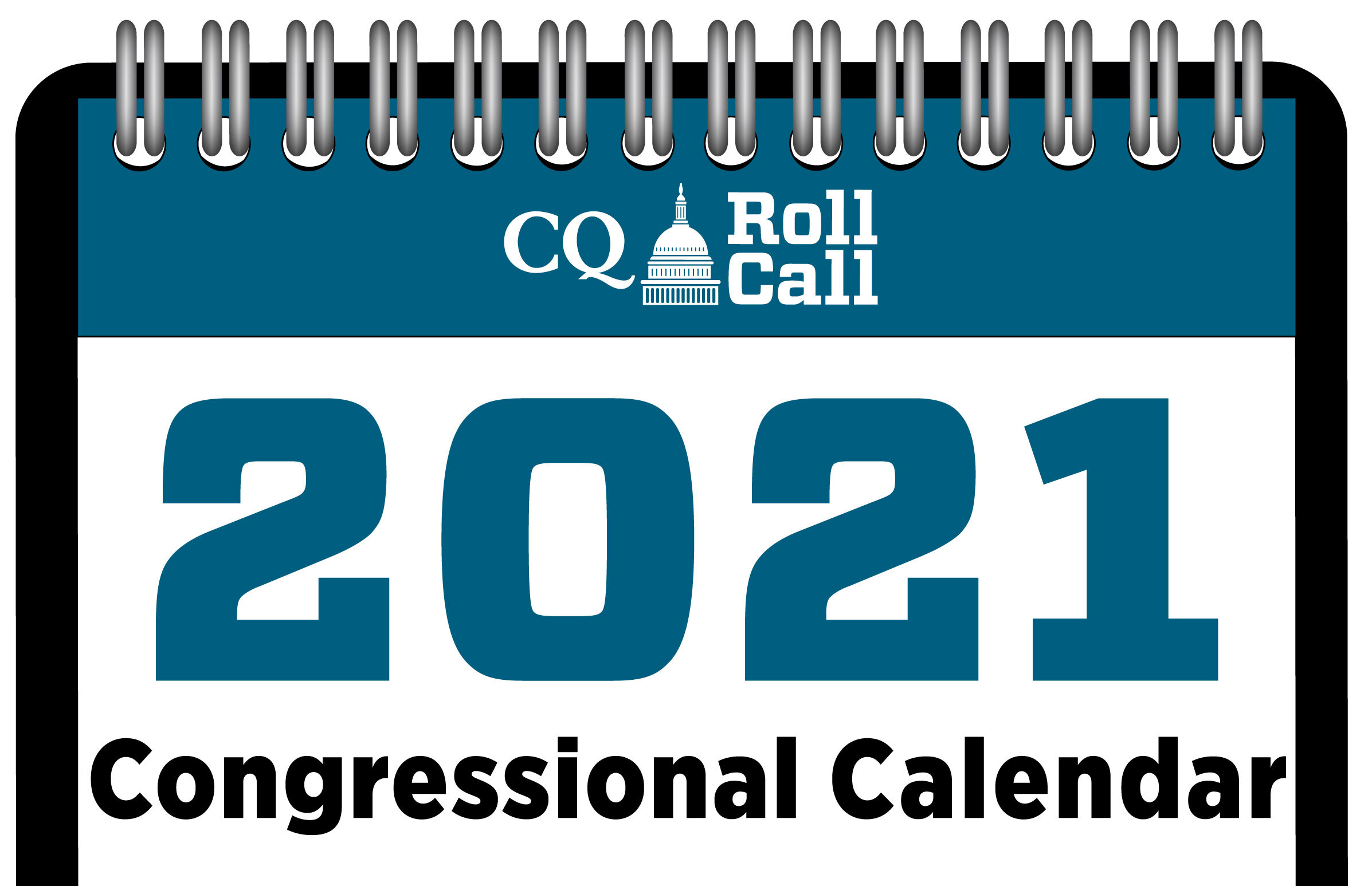 click to view or download the Congressional Calendar