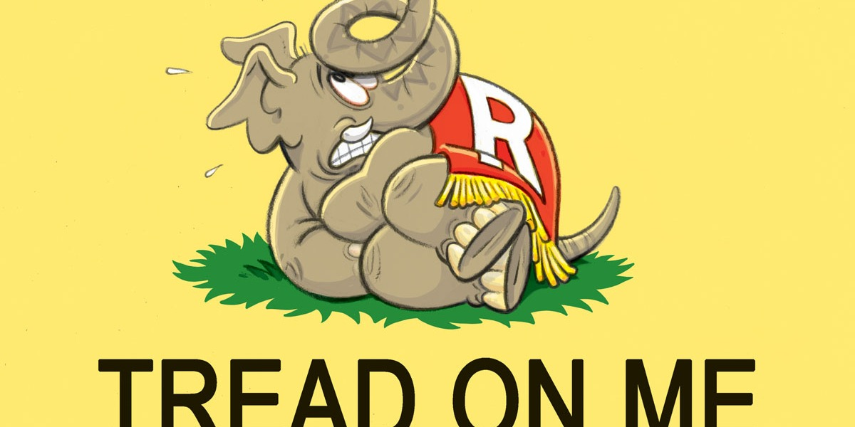 Capitol Ink | New banner for the GOP - Roll Call