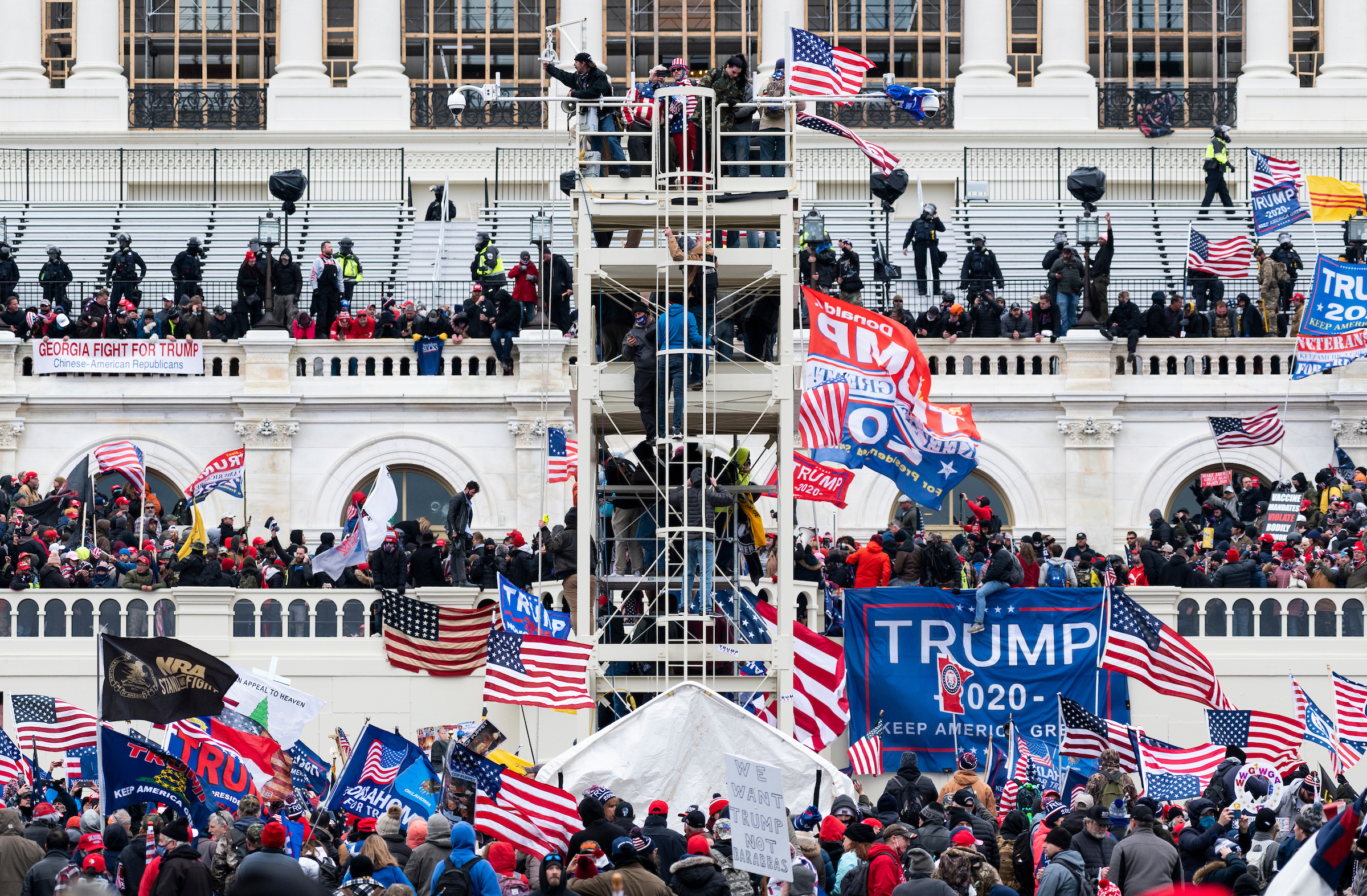 Capitol riot: What our Hill reporters and photographers saw - Roll Call