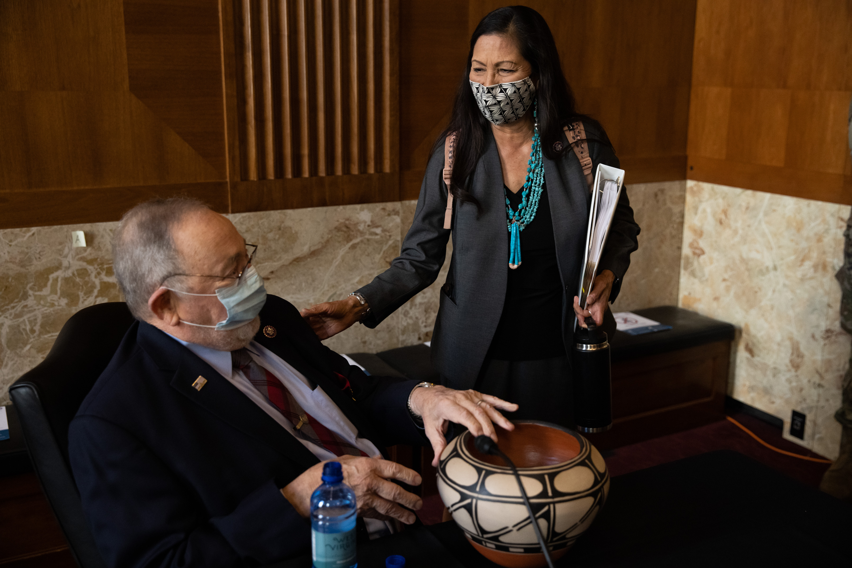 Why pro-drilling Don Young came to back Haaland for Interior - Roll Call