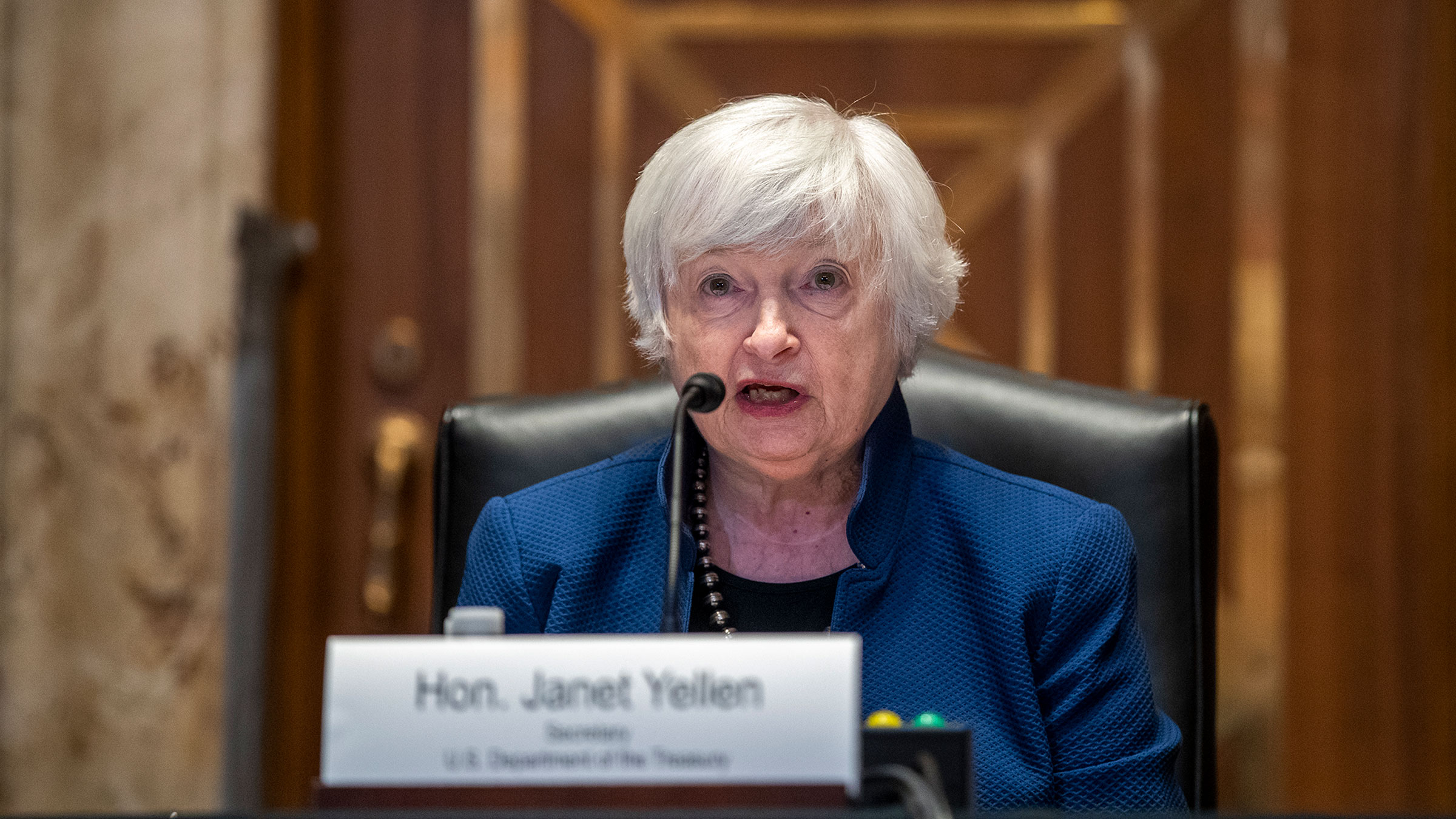 Yellen urges lawmakers to act on debt limit in September