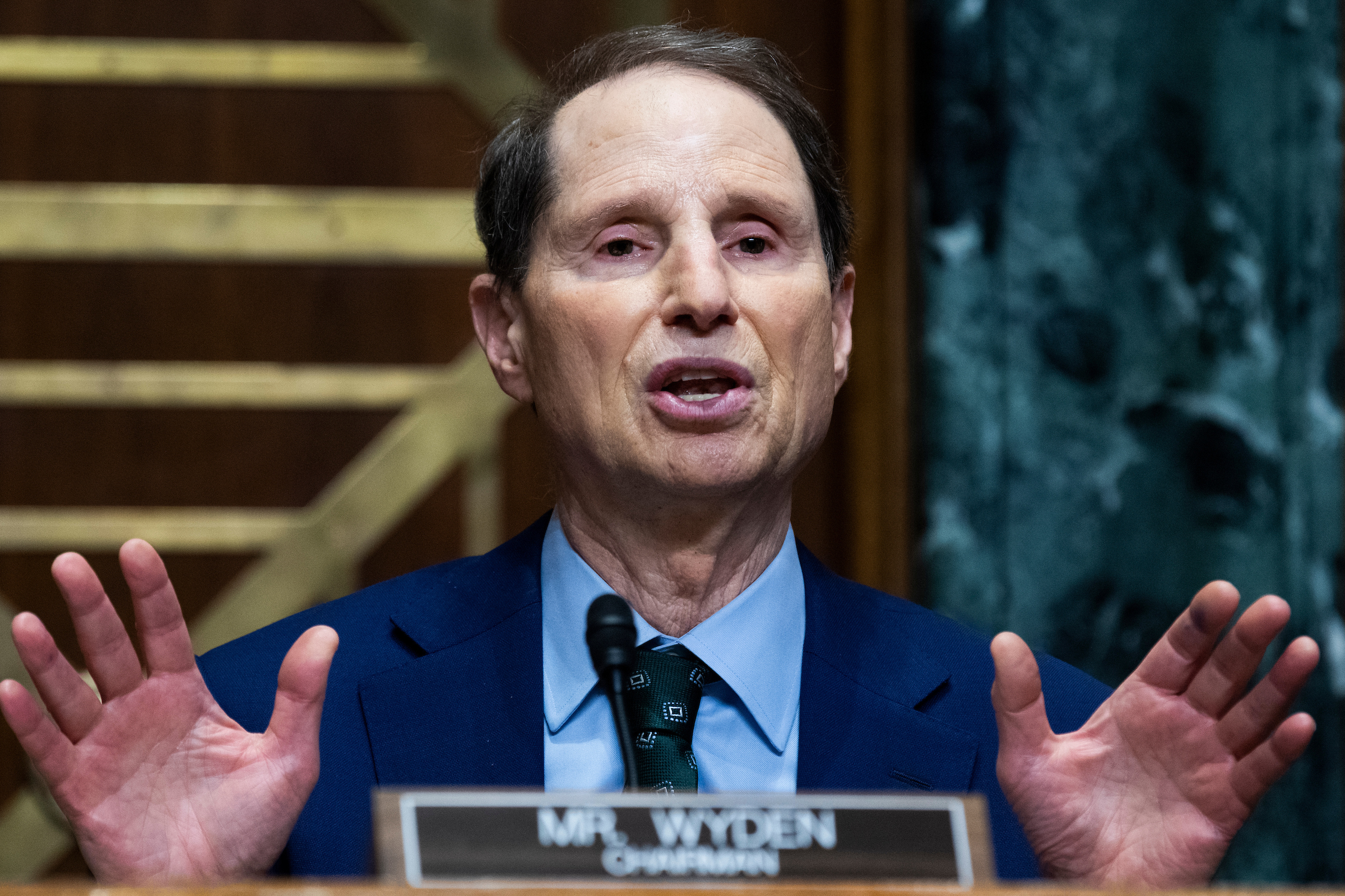 Wyden wants tweaks to infrastructure bill's cryptocurrency rules thumbnail
